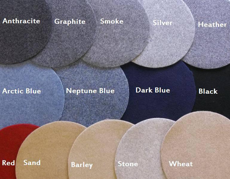 roof material samples