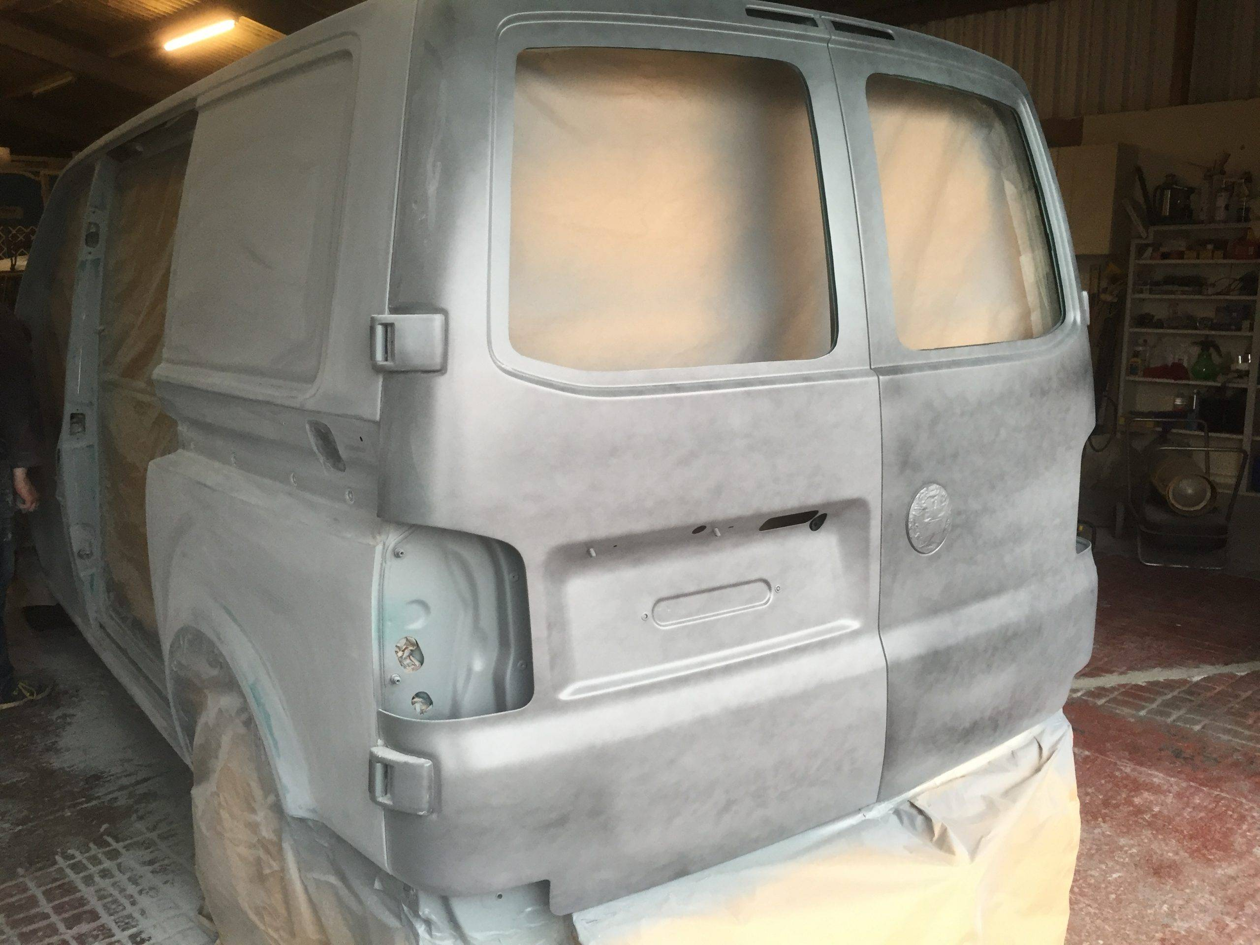 paint job on vw camper