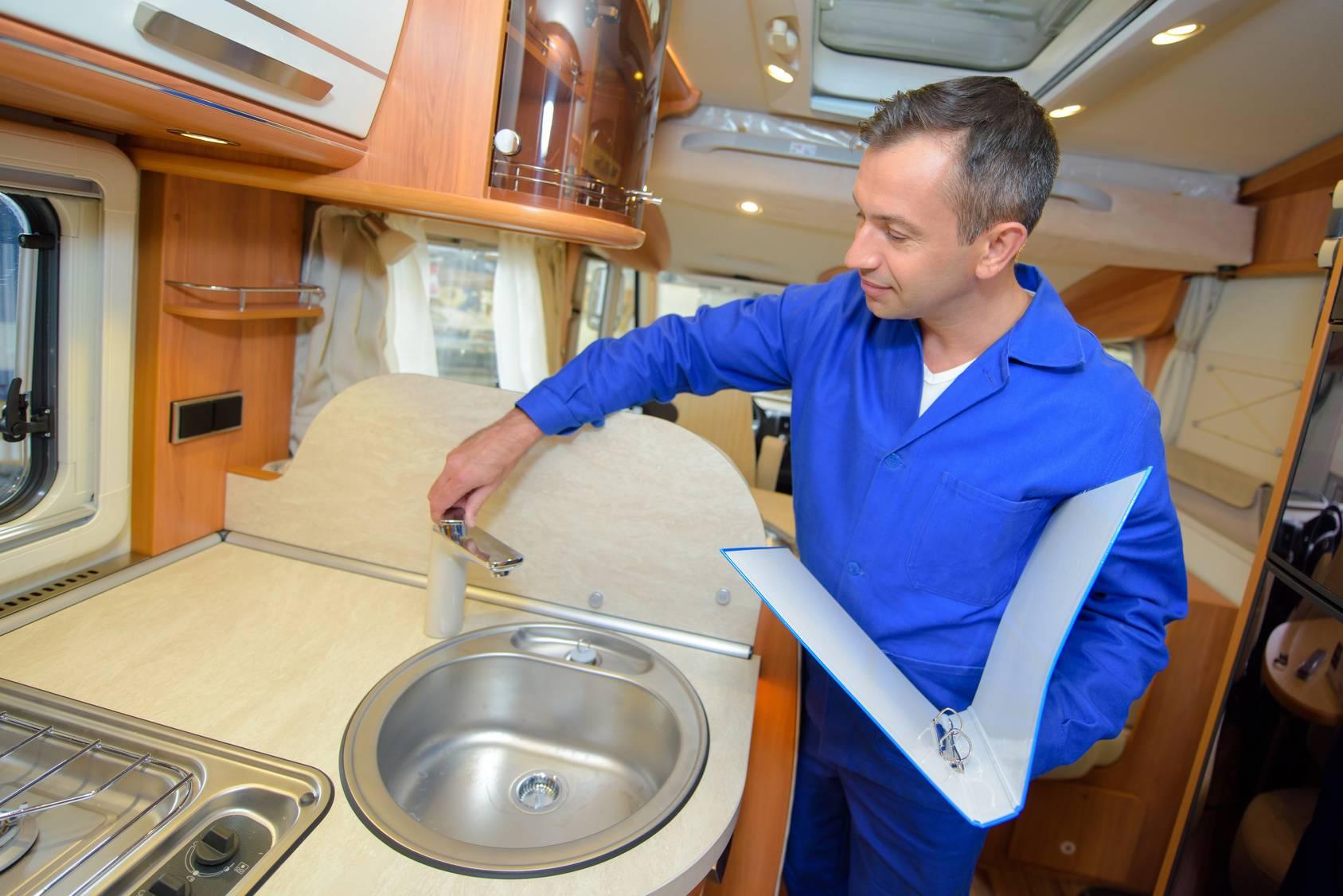 quality control of camper van